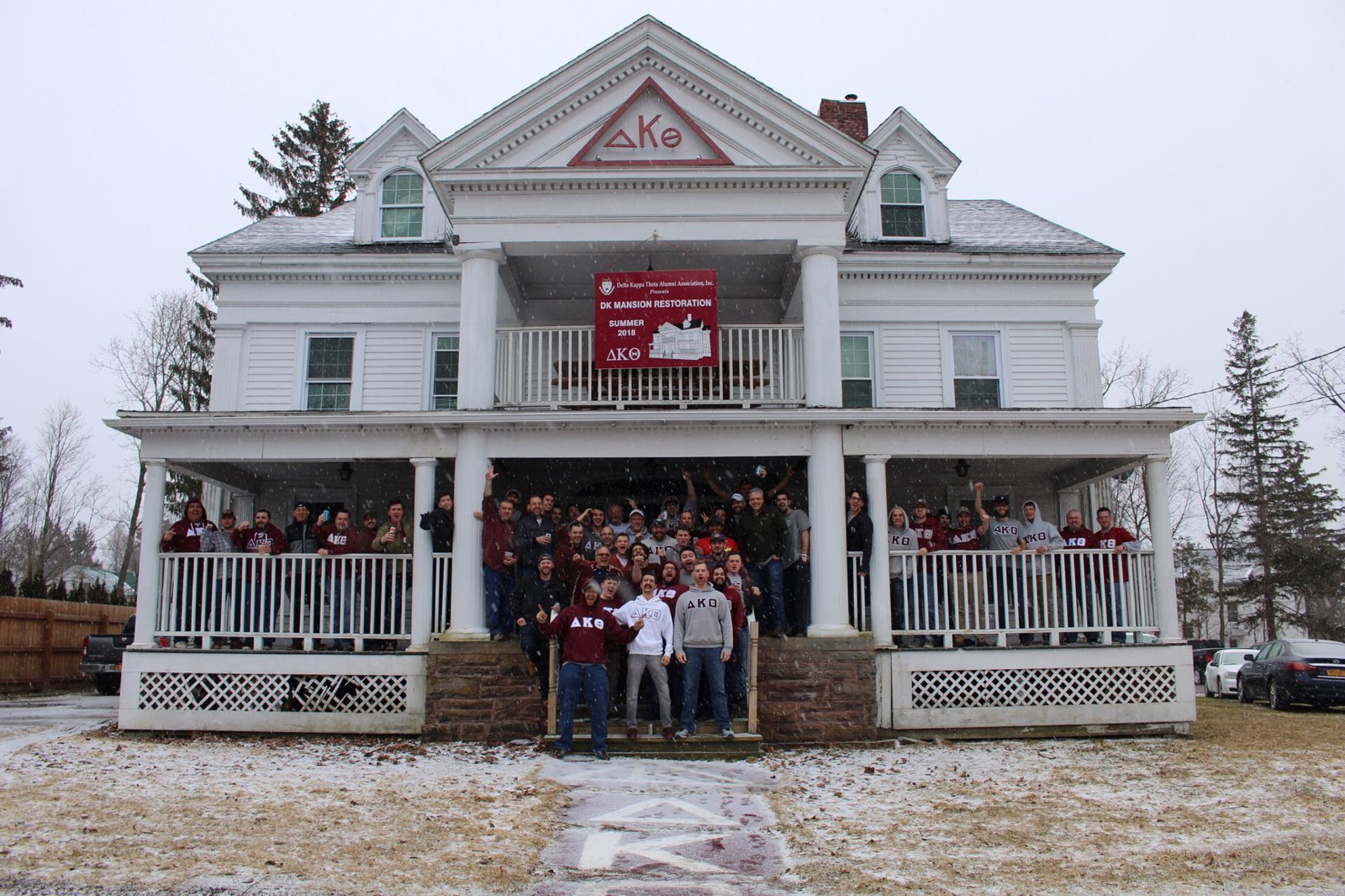 Mansion Alumni Weekend Spring 2018
